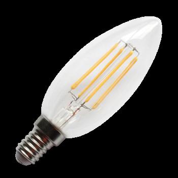 LED E14 Eco-d Kerze filamente